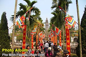 Pho Minh Pagoda - Nam Dinh