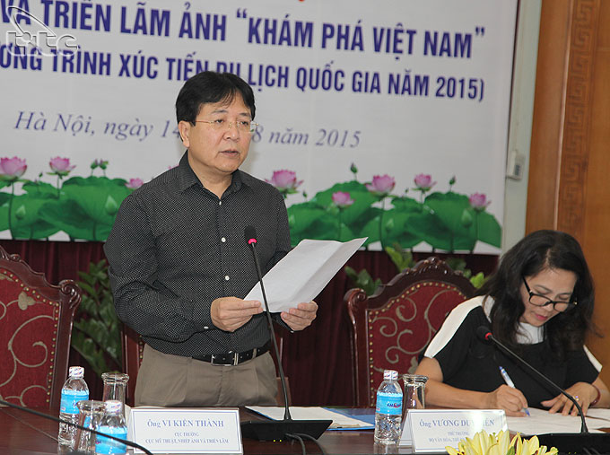 "Launching the photo contest and exhibition ""Discovering Viet Nam's beauty"""