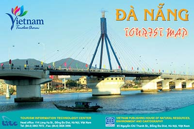 Da Nang Tourist Map 2014