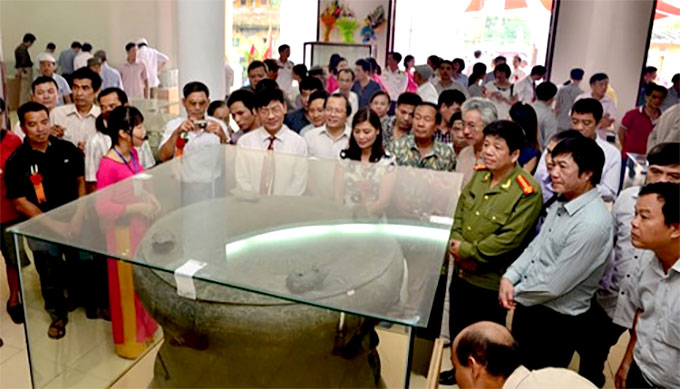Exhibition highlights Dong Son culture in Hai Duong