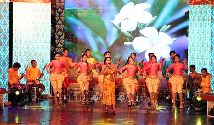 Southern Khmer folk singing festival opens in Soc Trang
