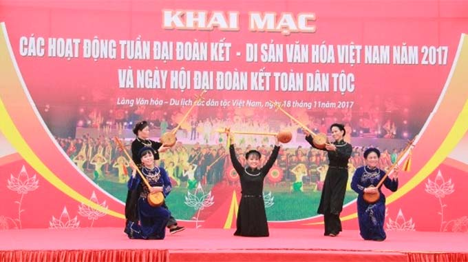 Week to highlight great national unity, Viet Nam's cultural heritage