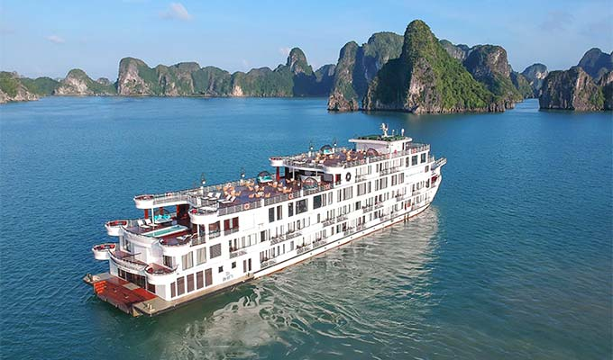 The 5 Amazing facts of the new President cruise that has just been launched in Halong Bay