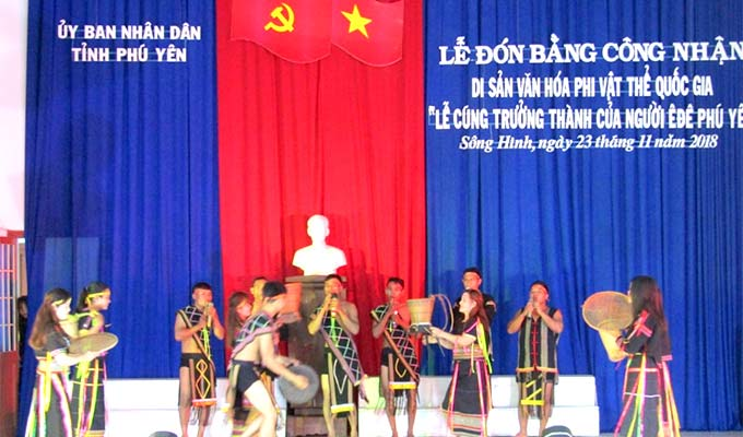 Ede people in Phu Yen have national intangible heritage