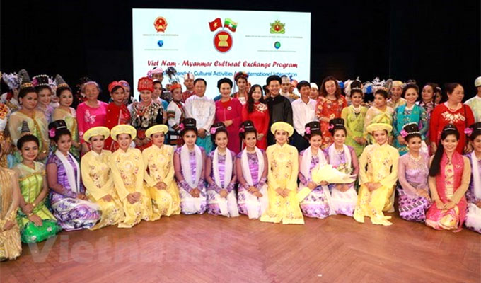 Exchange programme tightens Viet Nam-Myanmar cultural links