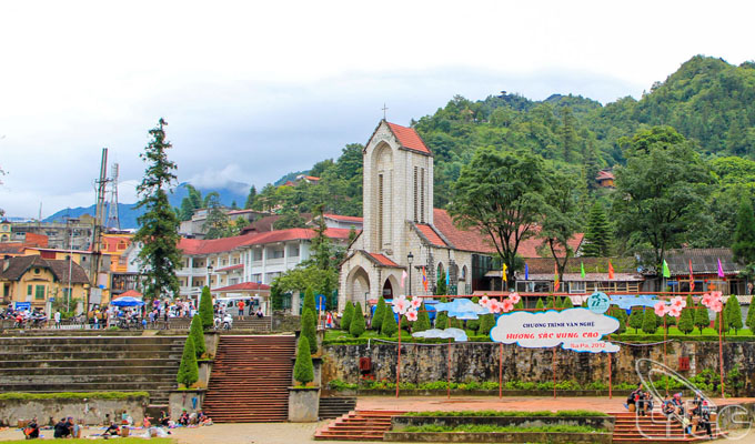 Sa Pa Stone Church – An ancient French architectural work in Lao Cai Province