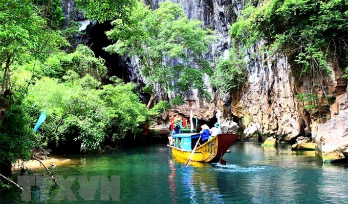 Quang Binh works to boost tourism development