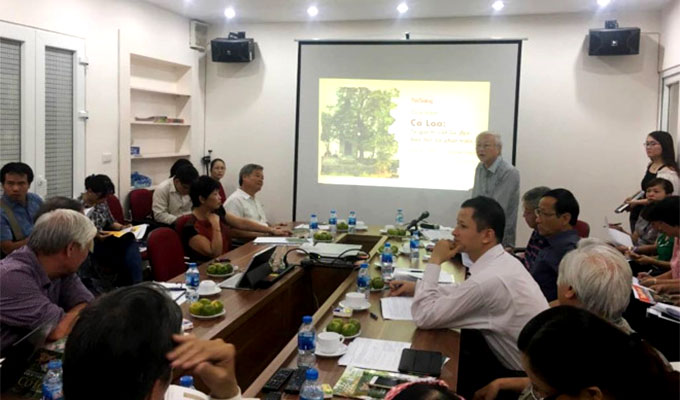 Seminar on the preservation of Co Loa relic site