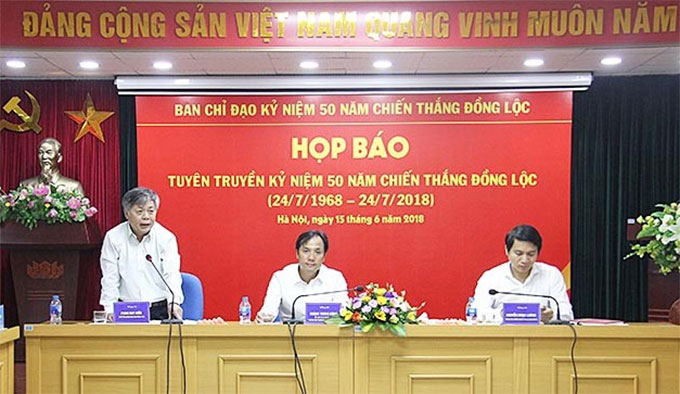 Activities to mark 50th anniversary of Dong Loc victory