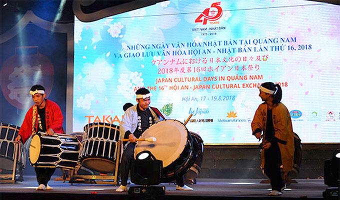Quang Nam: Cultural days celebrate Viet Nam- Japan ties