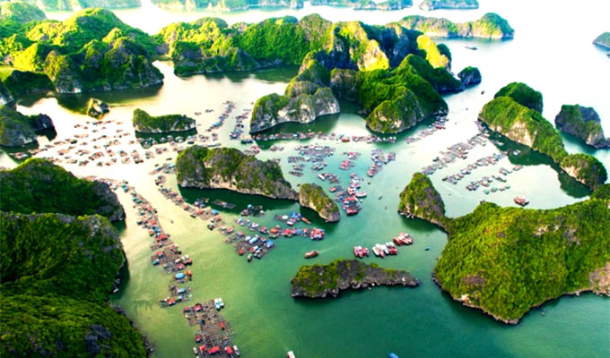 Thrillist names Lan Ha Bay top place to visit