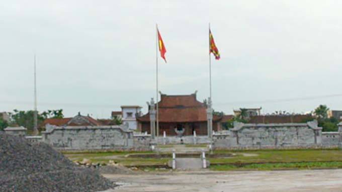 Khuc Thua Du temple – a national historical relic in Hai Duong province