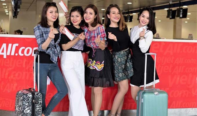 Vietjet offers one million of tickets from zero dong for Japan, int'l flights