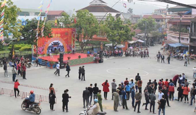 Nhiều hoạt động tại Lễ hội đền Bắc Hà