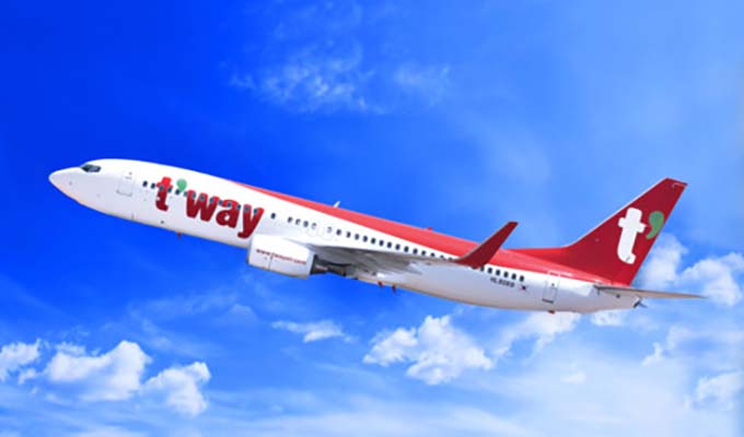 T'way Air launches Daegu-Ha Noi air route