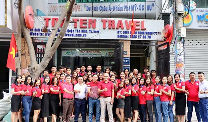 Top Ten Travel  - Đơn vị kinh doanh dịch vụ du lịch hàng đầu tại Việt Nam