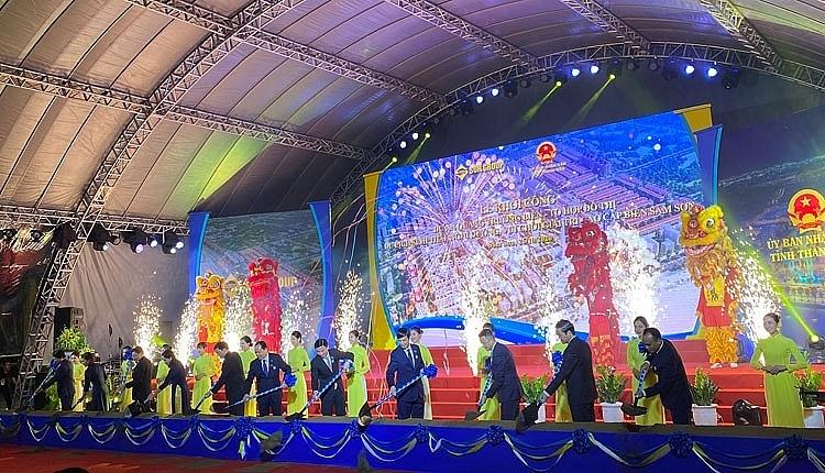 Sun Group khởi công dự án du lịch tại Sầm Sơn với vốn đầu tư hơn 1 tỷ USD