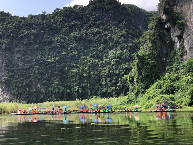 Vietnamese tourism reaches new heights