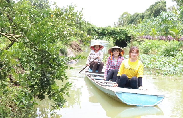 Đồng Tháp: Du lịch sinh thái thu hút ngày càng nhiều du khách tham quan