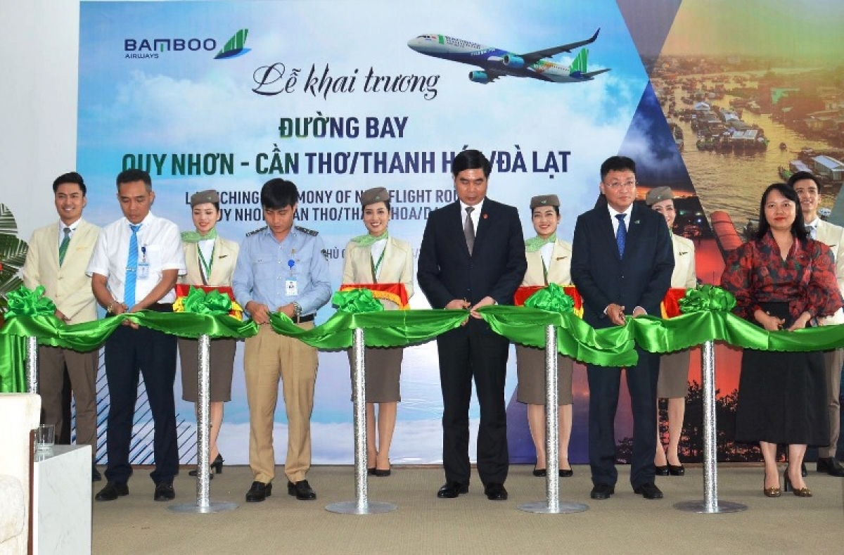 Bamboo Airways launches three domestic routes to Quy Nhon