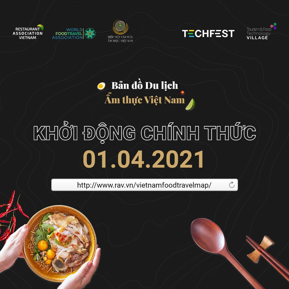 Vietnam Food Travel Map project announced