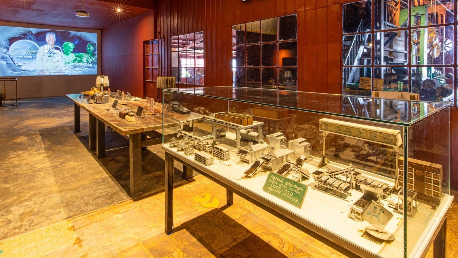 Vietnam's first tea museum