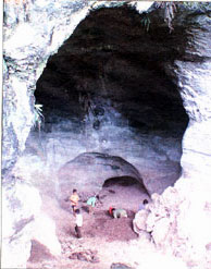 Ancient road found in cave