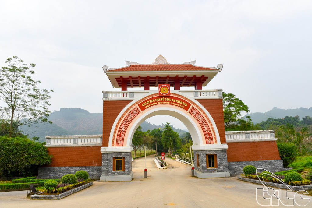 Historical Site of People's Public Security in Tuyen Quang Province