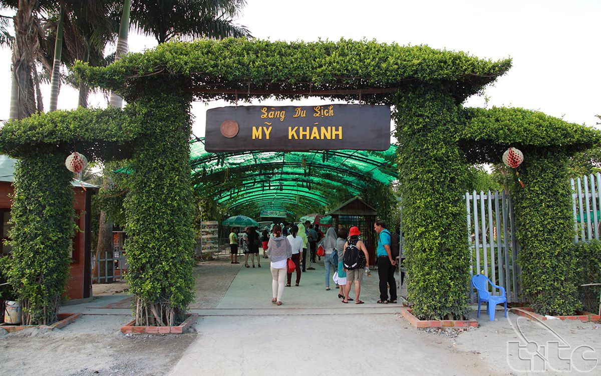 My Khanh Tourist Village -  Can Tho City (Photo: The Phi)